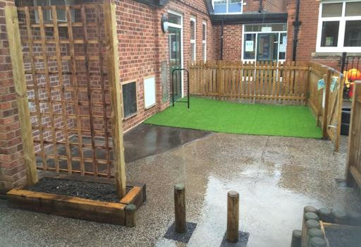School Commercial Landscaping Project, Norwich