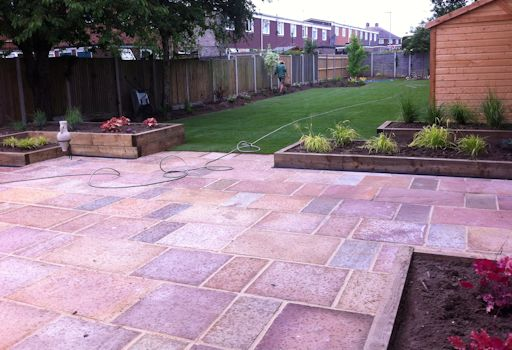 Mn landscapes norwich landscaping projects for Garden decking norwich
