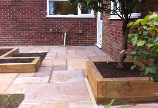 New Patio and Planters, Norwich