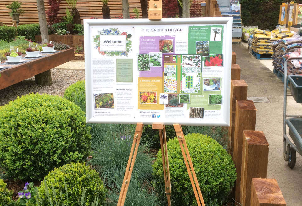 ... Notcutts Show Garden Design Norwich   The Garden Layout Plan Designed  By Notcutts
