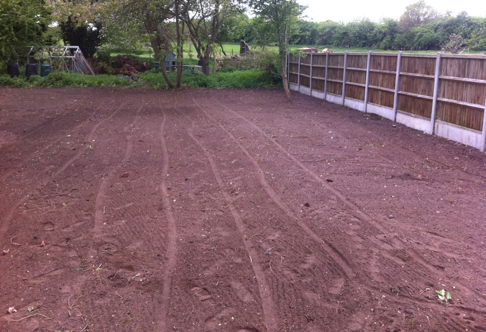 Garden Clearance and Lawn Swannington, Norfolk - Landscaping and Levelling the site