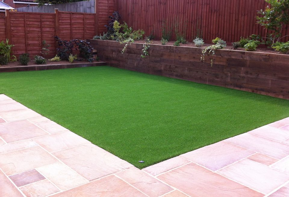 Landscaping and Garden Design Norwich - Low Maintenance Lawn