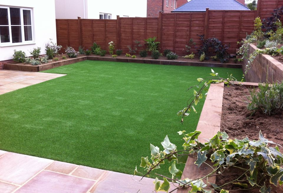 ... Landscaping And Garden Design Norwich   Completed New Garden ...