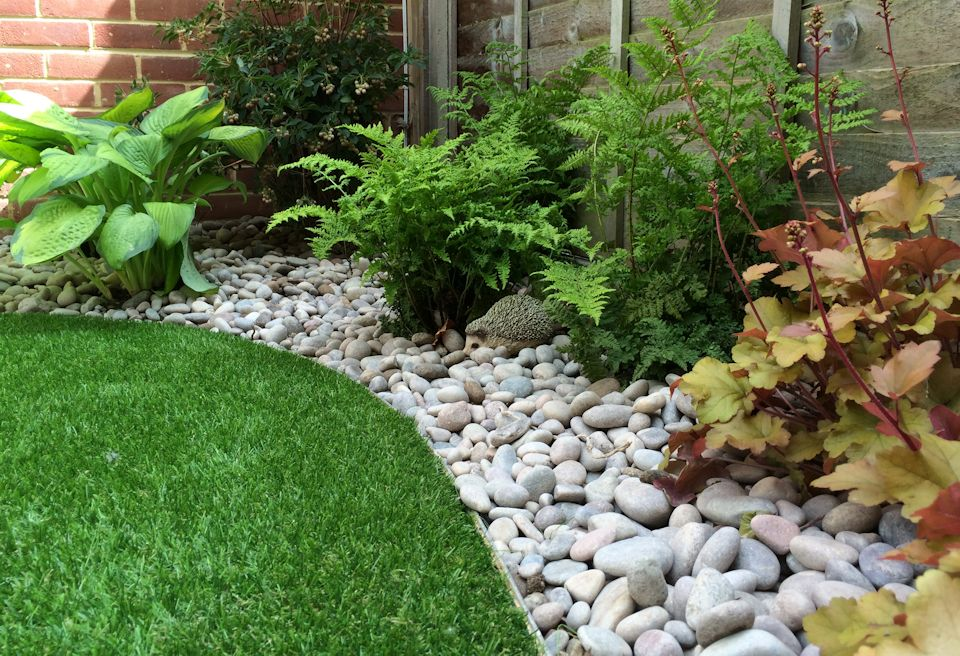 Image gallery maintenance border Low maintenance garden border ideas